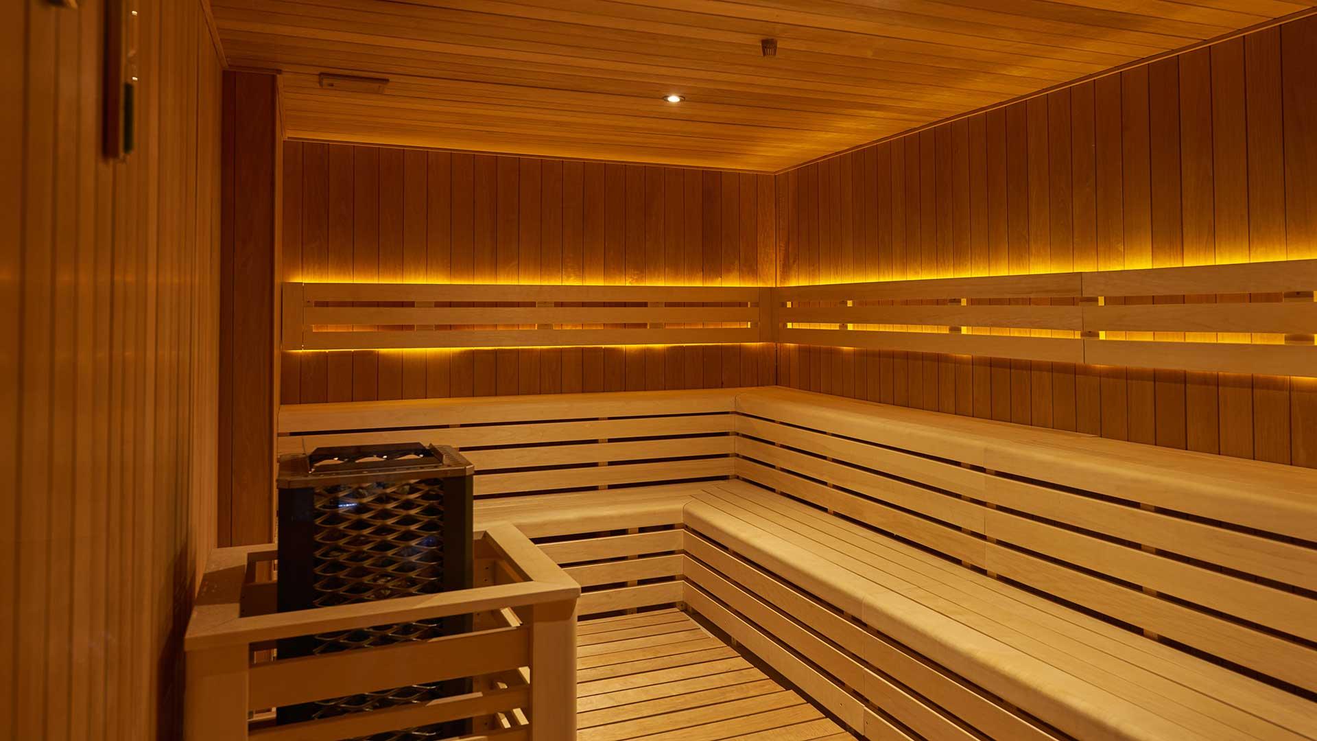 Huma Kotor Bay - sauna