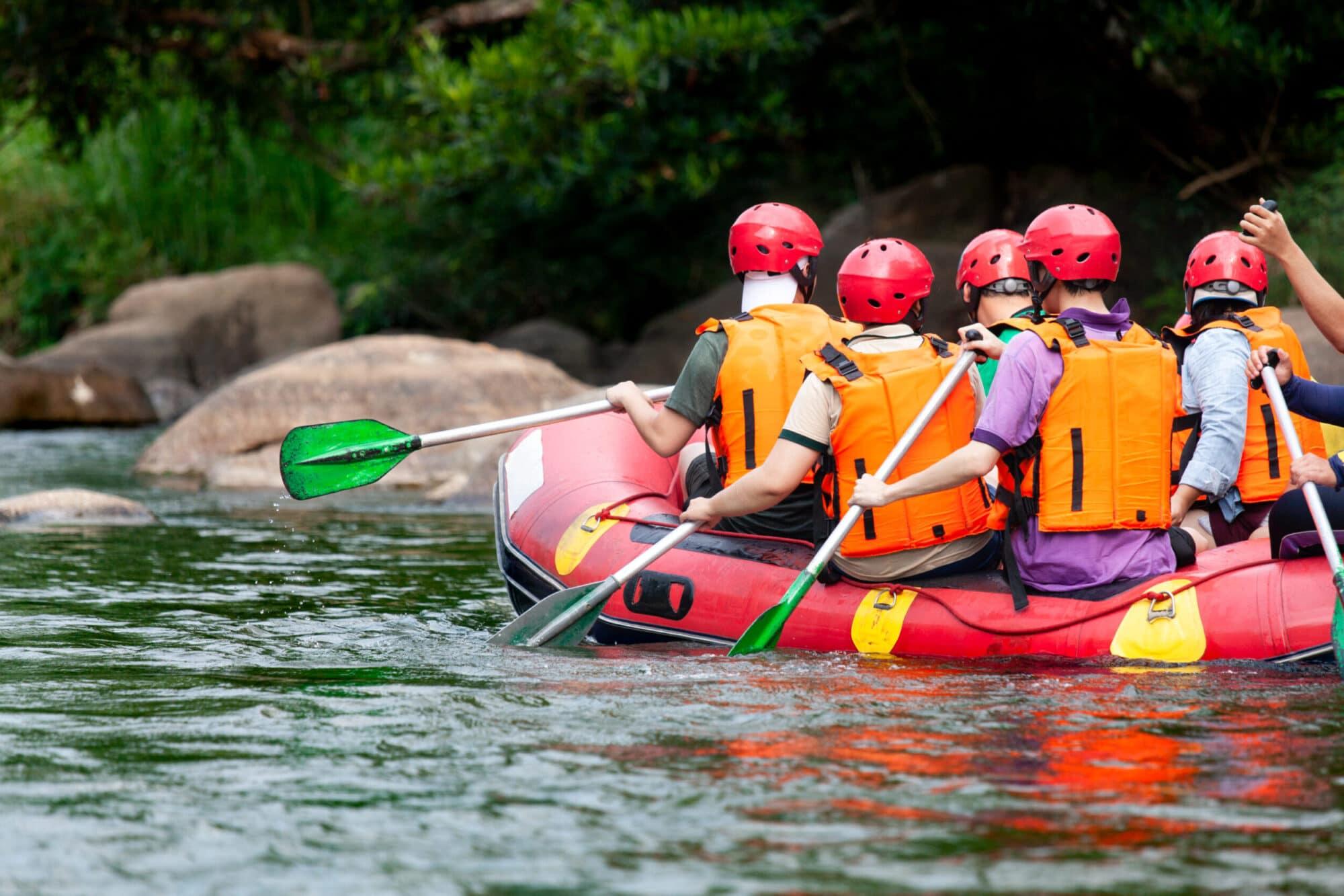 Huma Activities- rafting on Tara