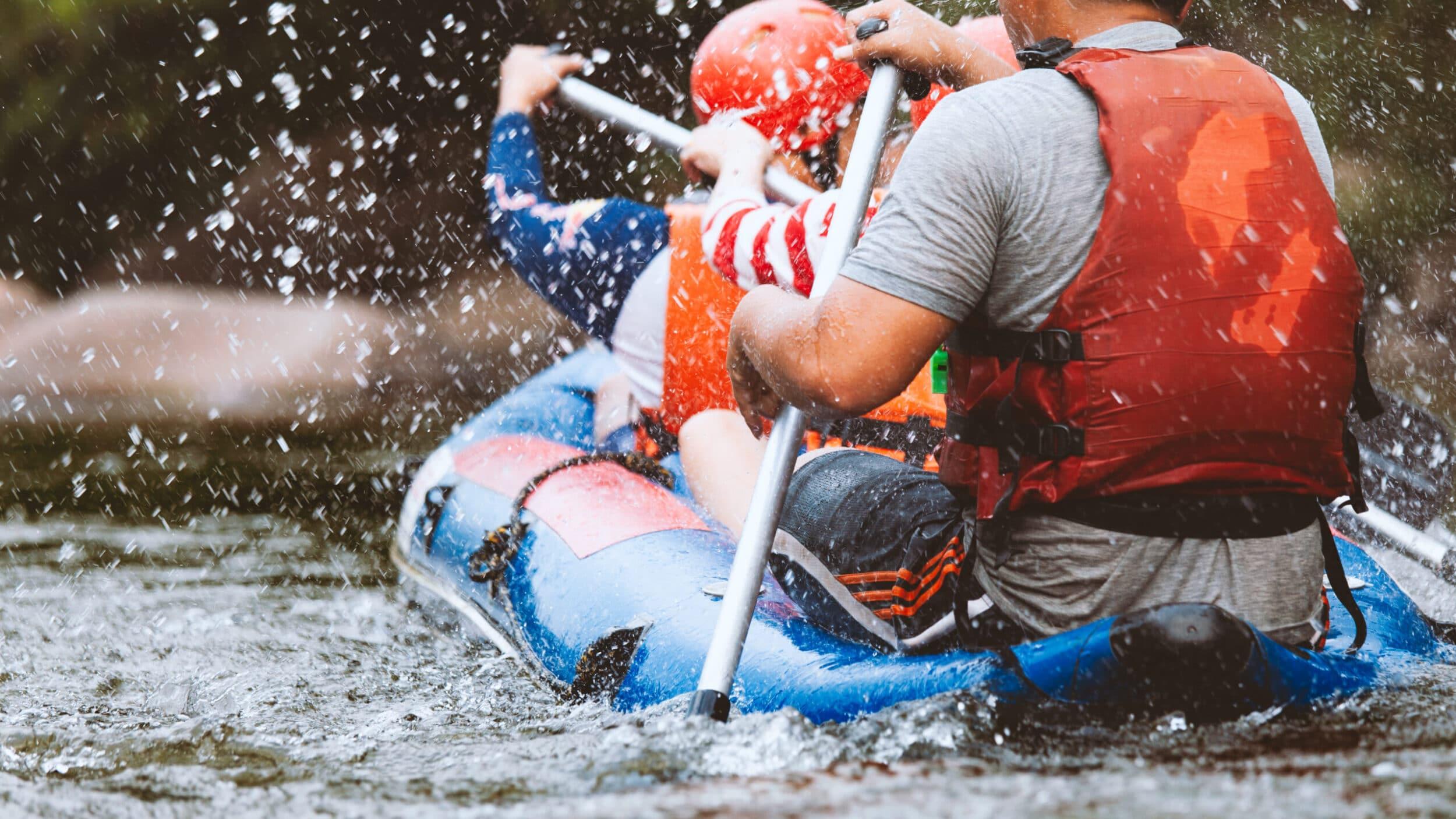 Huma Activities- rafting