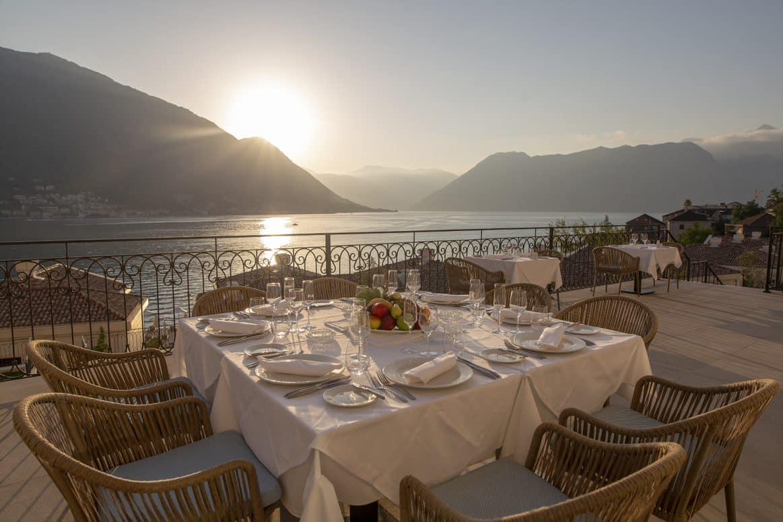 Huma Kotor Bay - Tosca Restaurant